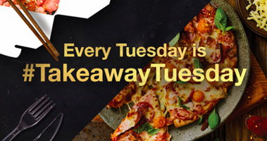 Every Tuesday is now #TakeawayTuesday